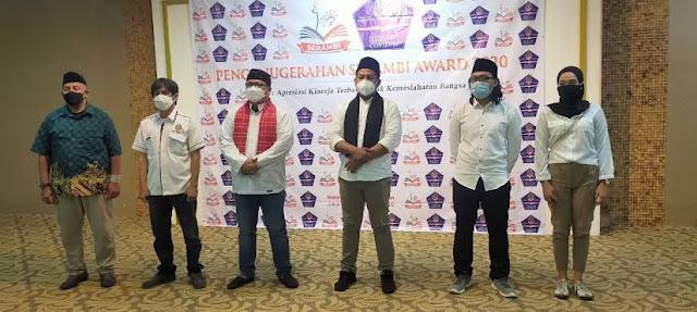 Anies Diberi Penghargaan Gubernur Inspirasi Indonesia