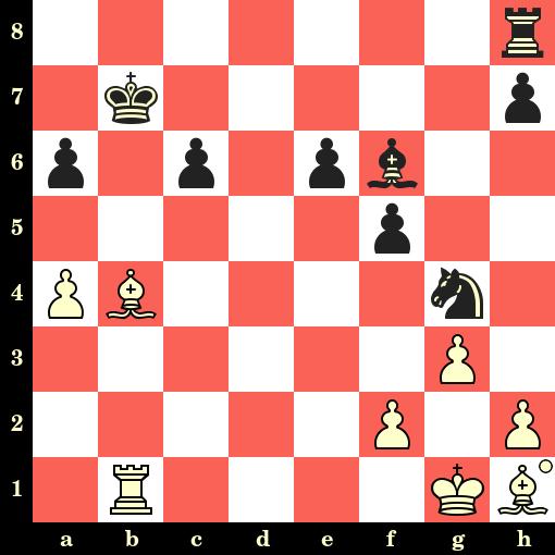 Les Blancs jouent et matent en 4 coups - Irina Bulmaga vs Natasa Bojkovic, Subotica, 2019