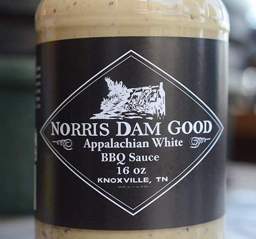 Norris Dam Good White BBQ Sauce is excellent on chicken.