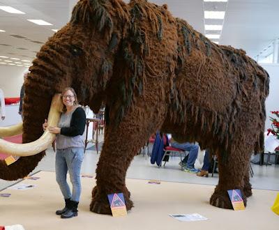 Stephanie und Mammut