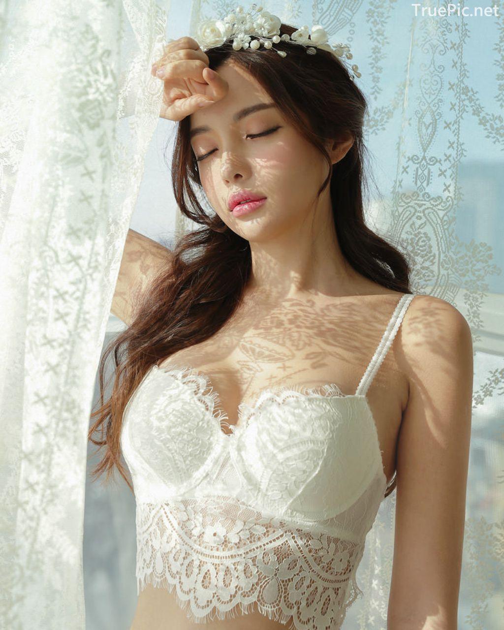 Korean Fashion Model - Jin Hee - Lovely Soft Lace Lingerie - TruePic.net - Picture 3