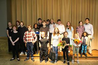 Montgomery Catholic Drama Performs Alabama Stories Scene Program 1