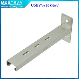 Bestray | Máng Cáp Dạng Lưới | Hệ Giá Đỡ | Tay Đỡ Kiểu U USB