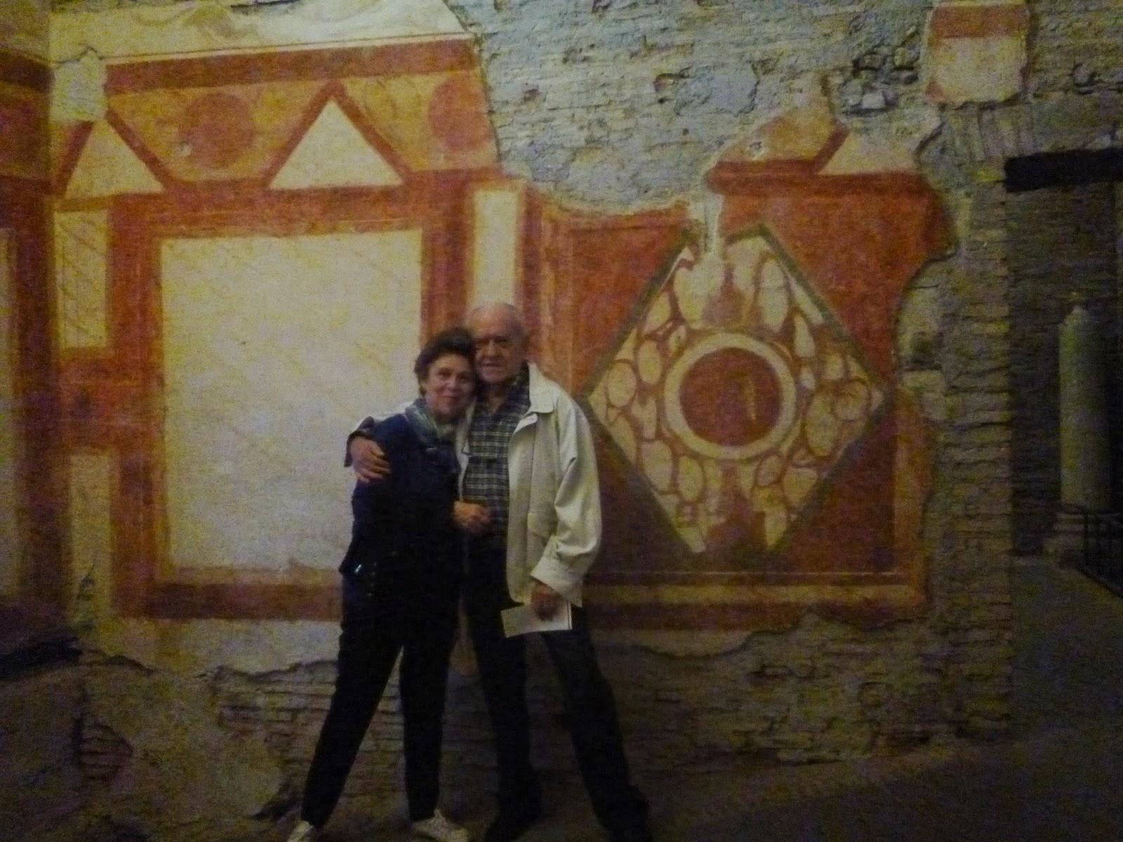 afresco casas romanas5 - Colina Celio, afrescos do período imperial