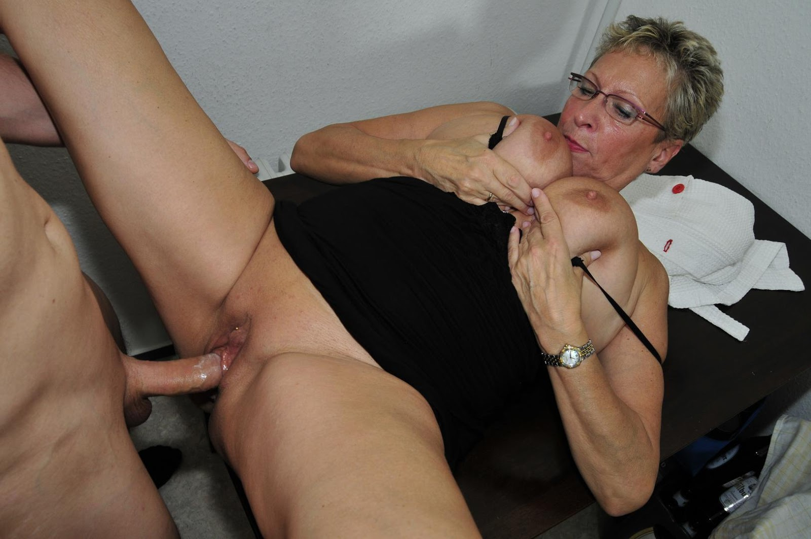 German Old Granny Porn