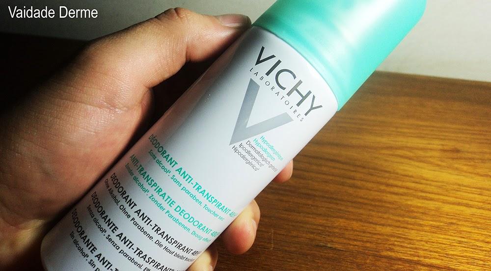 Vichy Desodorante Antitranspirante Spray 48h Aerosol