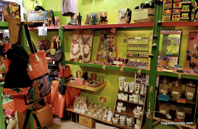 Produtos típicos de Cabo Verde vendidos no sistema de comércio justo