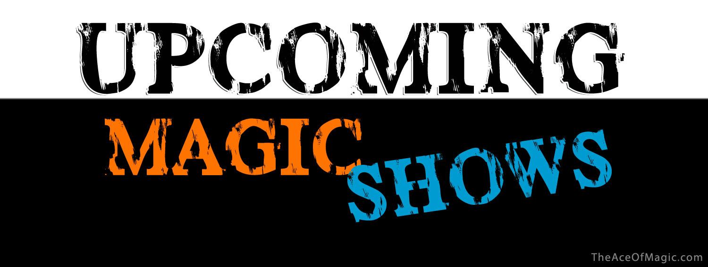 Local Magic Shows & Magic Events
