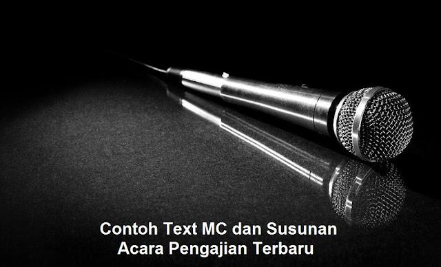 Contoh Text MC dan Susunan Acara Pengajian Terbaru