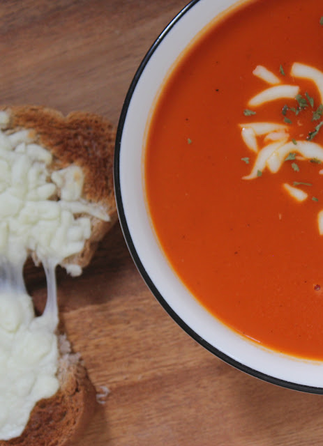 See how we made our late night snacking tradition better with the Tomato Carrot Bisque from Campbell's Well Yes!™ Soup!