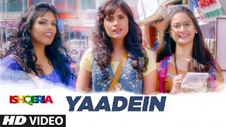 Yaadein Song Lyrics
