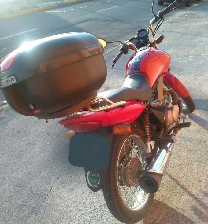 Furtou uma moto e foi preso pela BM em Cachoeirinha