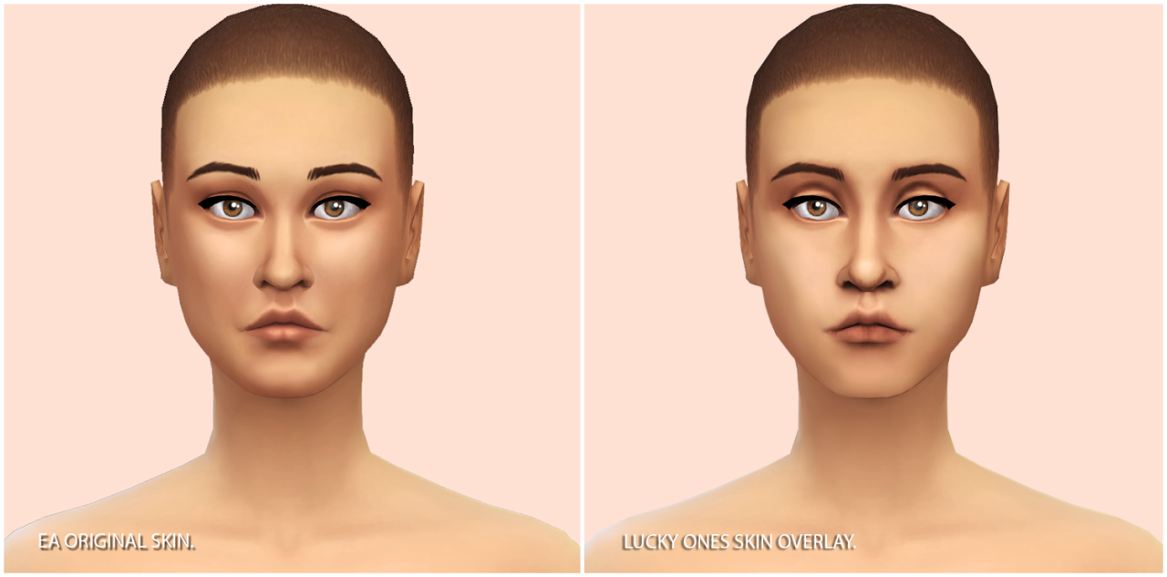 Maxis Match Skin Overlay For Males And Females By Nilou
