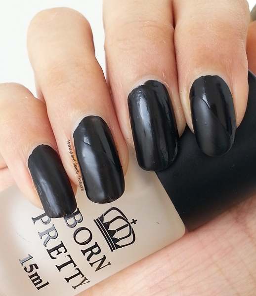 Makeup And Beauty Treasure: Born Pretty Black Nail Polish
