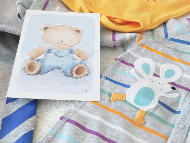 Kortissa luvattiiin innokkaana ja puhelinnumeron kera vauvahoitoapua