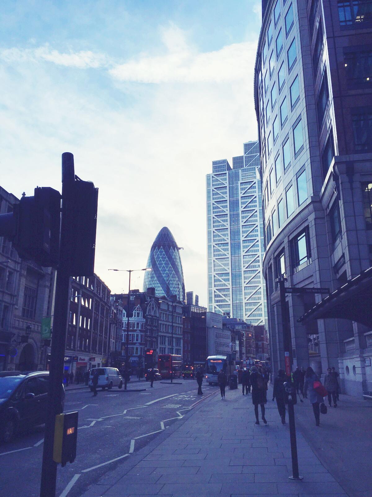 the gherkin london, liverpool street