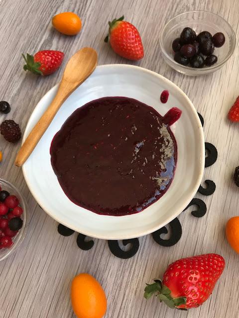 mermelada casera de frutos rojos receta