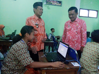 Walikota Mojokerto Sidak Kesiapan USBNK