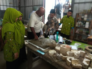 Penyuluh Agama Islam dan PAI Non PNS Kecamatan Jatiwangi kunjungi Jatiwangi Art Factory (JAF)
