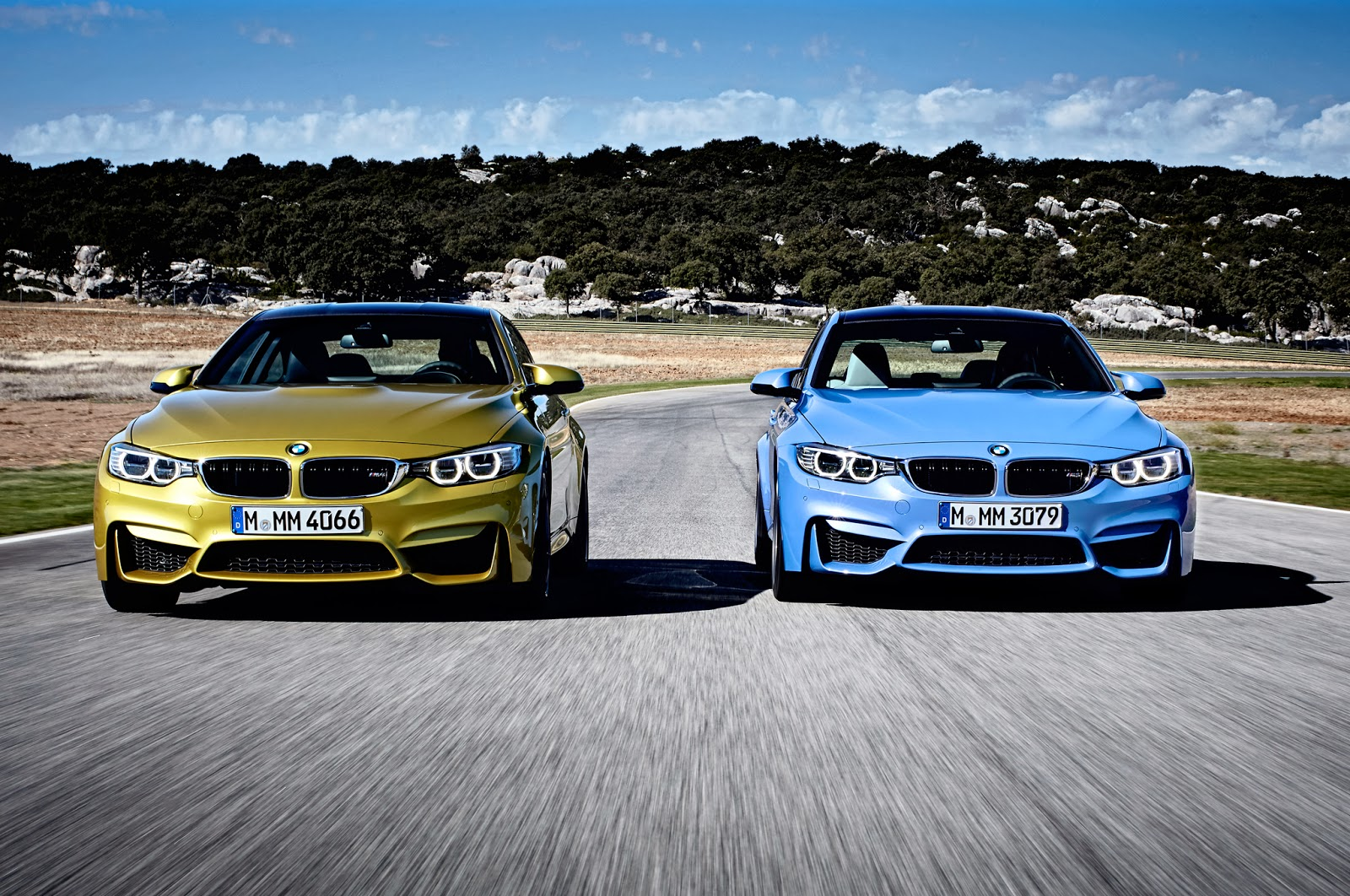 2015 BMW M3 Sedan and M4 Coupe - Review | Auto Review 2014