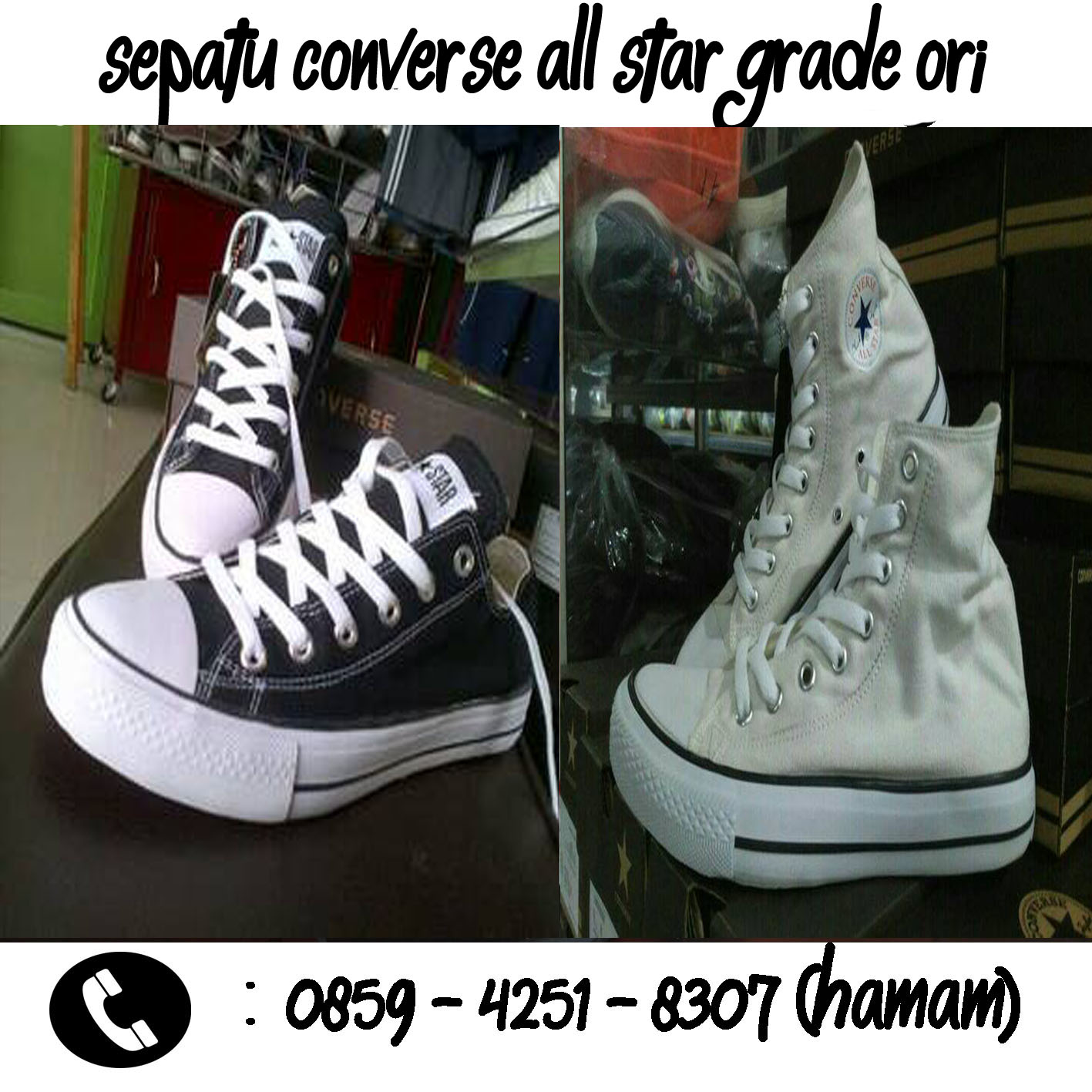 Sepatu Converse All Star Grade Ori Murah