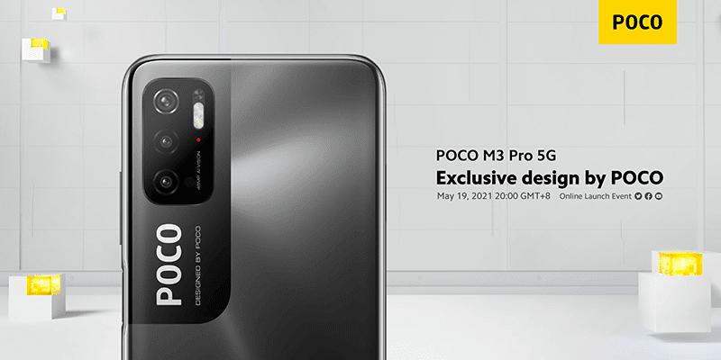 POCO M3 Pro 5G will feature a unique design, 48MP triple-cam, 5,000mAh big battery, 18W fast charge