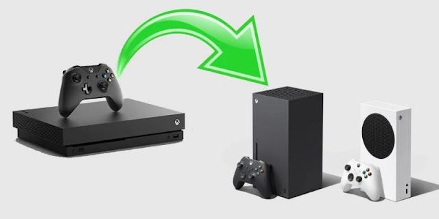 نقل البيانات من Xbox One إلى Xbox Series X أو Series S.