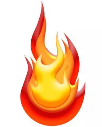 ما هي الاختلافات بين حريق الأرض وحريق السطح؟