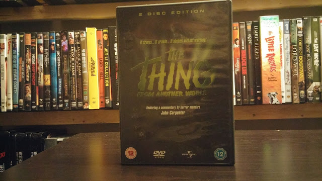 cover shot of The Thing From Another World from the U.K.