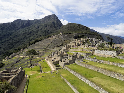 Machu Picchu Pictures: The ruins of Machu Picchu in Peru
