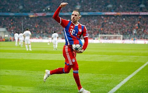 Trong trận đấu đầu tiên cho đội bóng Bayern, Franck Ribery không thể góp mặt.