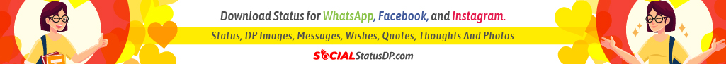 Download latest WhatsApp Facebook Instagram Status, DP, Videos, Quotes - SocialStatusDP.com