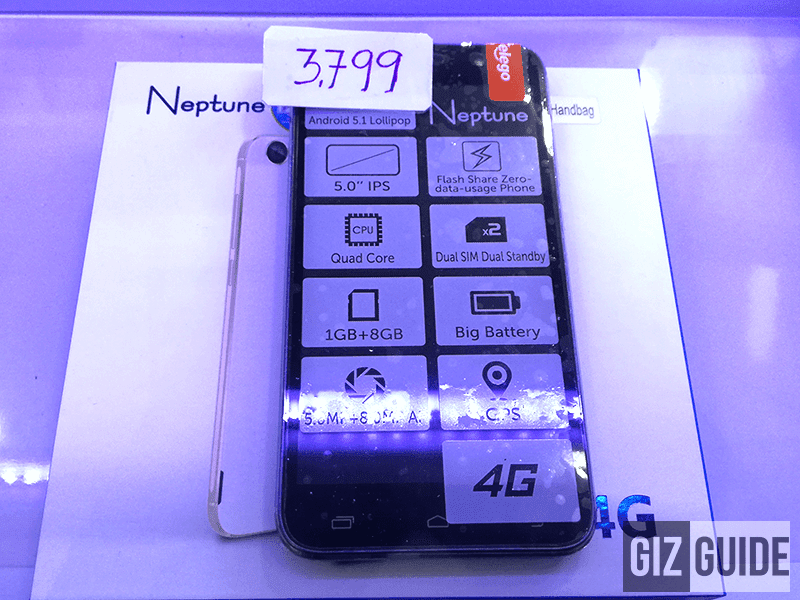 Telego Neptune with LTE spotted