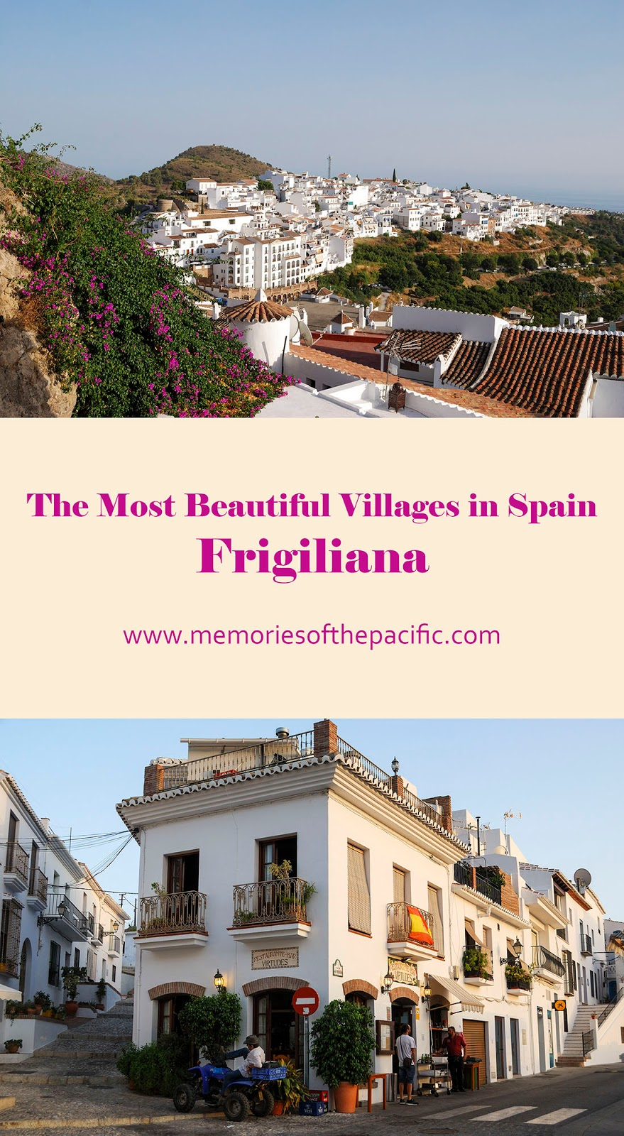 beautiful village spain frigiliana white andalusia