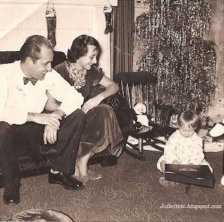 Christmas 1952, Fred and Mary E. Davis Slade and Wendy