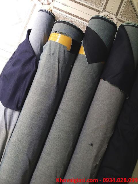 Vải Jeans, Kaki Thanh Lý