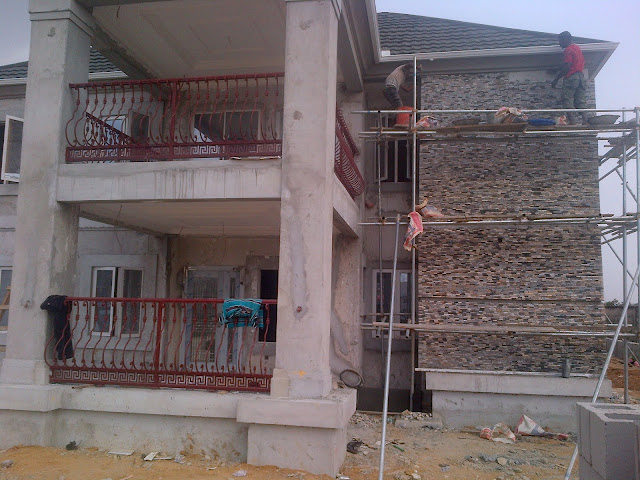 Granite stone at harmony estate portharcourt