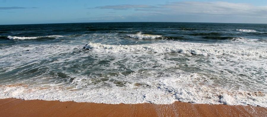 Océano Atlántico en Beverly Beach