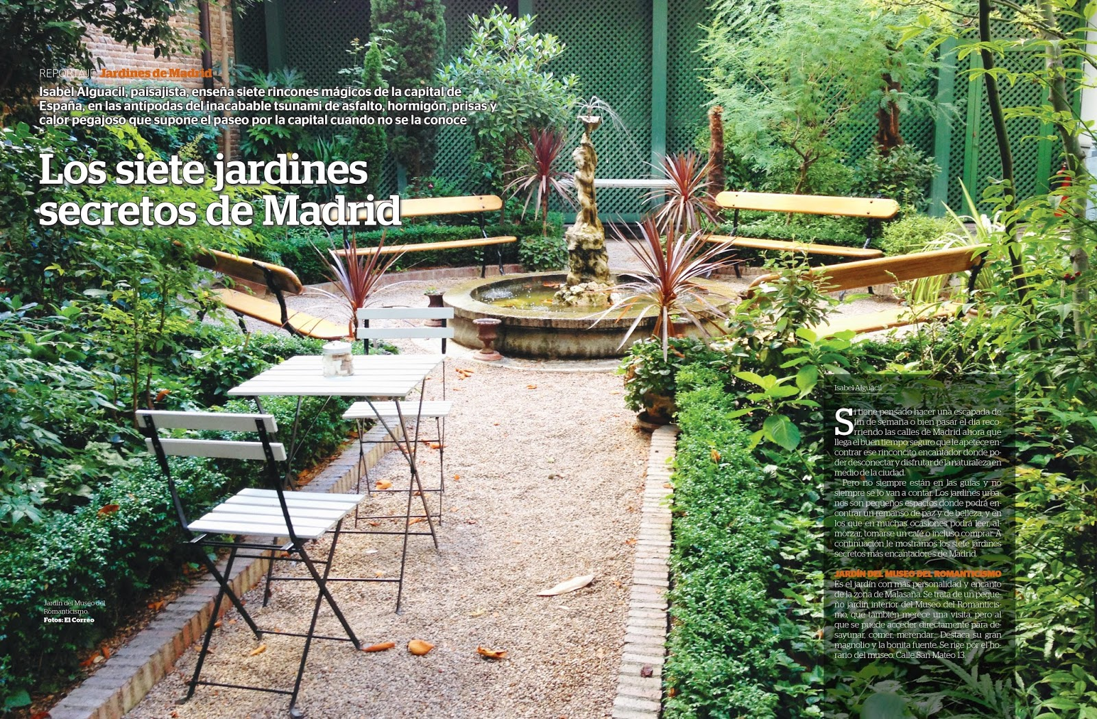 Mis jardines secretos de madrid paisaje libre for El jardin de los secretos