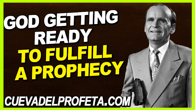 God getting ready to confirm a promise and to fulfill a prophecy - William Marrion Branham Quotes