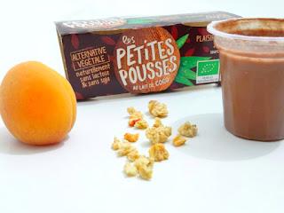 Les Petites Pousses bio au lait de coco et au lait d'amandes