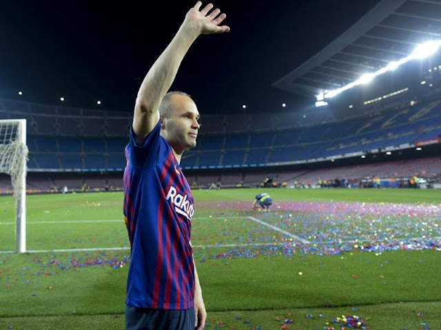 Andres Iniesta finally reveals his new club after Barcelona exit