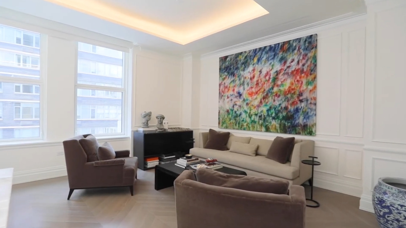 Luxury Condo Interior Design Tour vs. Spectacular Reimagined Residence at 108 Leonard