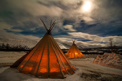 Norway sami tents