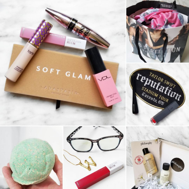 bblogger, bbloggers, bbloggerca, canadian beauty blogger, lifestyle blog, southern blogger, instagram, roundup, instamonth, torrid haul, taylor swift rep tour toronto, lord of misrule, lush, amazon haul, summer 2019, philosophy, purity cleanser, maybelline, lash sensational, tarte shape tape, maybelline superstay matte ink, anastastia beverly hills, soft glam palette, bath bomb