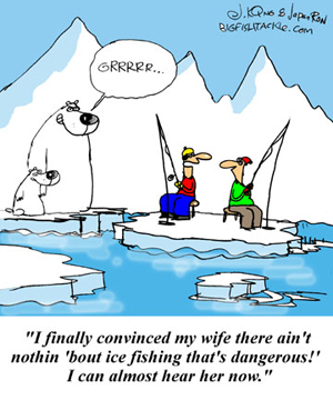 Dead Fisher: Joke/Quote of the Week #5 Funny Ice Fishing Jokes