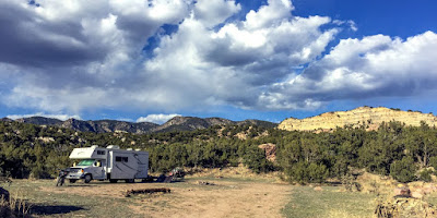 Boondocking in the Oil Well Flats BLM area and T-Dubing to Red Rock Canyon Park