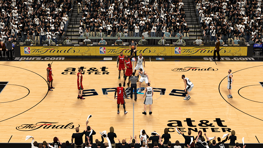 NBA 2K14 Finals Spurs vs Heat