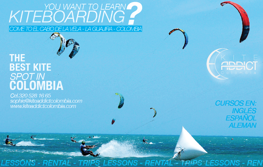 Kiteboarding  en Colombia