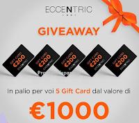 Eccentric Enne : vinci gratis 5 Gift Card da 200€ per il tuo shop online